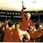#OTD: It was today in 1966 that Bobby Moore, @TheGeoffHurst and Martin Peters helped England lift the World Cup! http://t.co/vYofgk8HkU