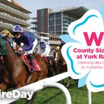 To win this @yorkracecourse prize, RT and then tell us how many racecourses there are in Yorkshire. #YorkshireDay http://t.co/V25YIX3jII