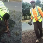NO ONE is uprooting #KideroGrass, contractor is restoring ground in order to do the proper planting ~ @KideroEvans http://t.co/QLmgdkmLvR
