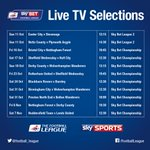 TV GAMES: Here they are! The first @SkySports picks for October and November http://t.co/jVcTSGlLu4
