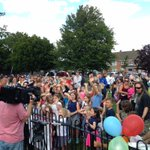 Ribbon-cutting for Headley Lane Parks new playground (with £50,000 from #PeoplesMillions) #Bristol http://t.co/nNguRzLj5V