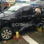 Imágenes #Concepcion colisión de vehículos 1 lesionado leve entregado a samu vía @CEBB23 @Radio_Emergenci @CEBB_791 http://t.co/6vChM2QvO2