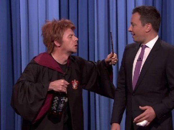 HuffPostEnt: Looks like Ron Weasley had one too many butterbeers
