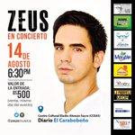 ¡Falta poco para el show! Allá nos vemos. #realmusic #valencia #concierto #Zeus http://t.co/pe6CXmdTP9