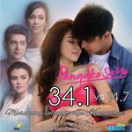 """@StarCreativesTV: Nationwide Ratings for #PangakoSaYo - Hangarin (July 29) 😊 https://t.co/vaguwJCKlF"" 34.1. 🙏🏼🎉💙http://t.co/I1HOvIdyBj"""