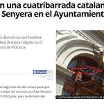 Descubren una cuatribarrada catalana dentro de la Real Senyera en el Ayuntamiento de Valencia #lasprovinciasfacts http://t.co/dJcVKcYi06