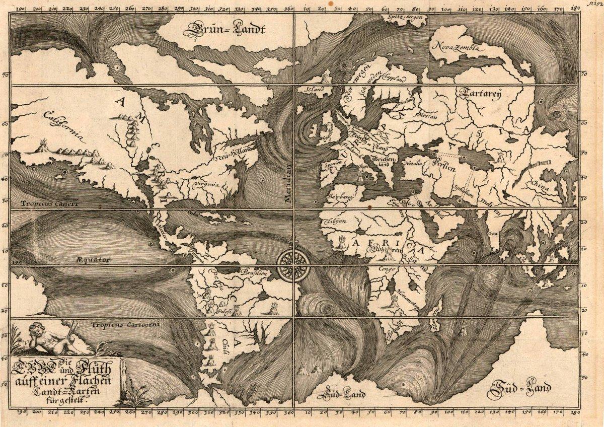Las más antiguas representaciones cartográficas de las corrientes marinas: http://t.co/xtQZLJVUeb http://t.co/RNyWwQFcdo