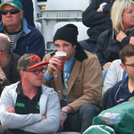 @SENNews @EssendonFC  skipper Jobe Watson kicking back on Day 2 at Edgbaston. Never to cold for a coldy. http://t.co/hkwbmrJEof