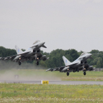 Amari Air Force Base, Estonia--The @RoyalAirForceUK supporting #NATOs Baltic Air Policing mission. #AlliedStrong http://t.co/fIuubGP1K6