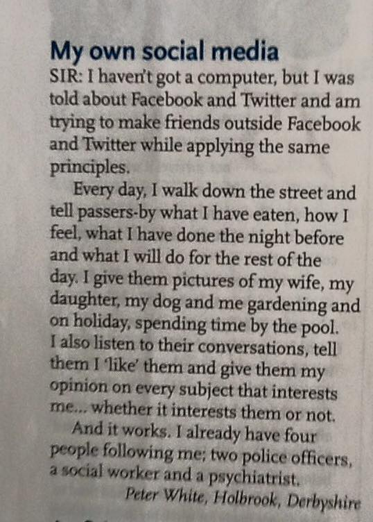 Social media viewed somewhat differently... http://t.co/UaN1dOoxCz