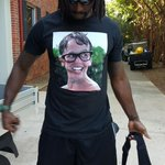 .@peanuttillman has the best shirt of #PanthersCamp so far. http://t.co/HUNKB2oVHp