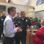 L.A. mayor and LAPD chief visit Leimert Park after flare of violence http://t.co/nGRnezihGN http://t.co/o7vwHAlNZE