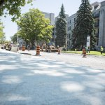 Road construction project around #KGH moving forward #YGK @cityofkingston http://t.co/CJkoNUX00B http://t.co/1DJC3ULyi9