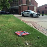 #BREAKING: Confederate flags placed around King Center, Ebenezer Baptist Church: http://t.co/GvKxIK5NPa http://t.co/7yfiwJmLdn
