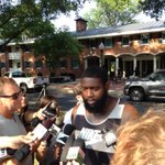 Someone had to say it: Mario Addison proclaims Panthers will wind up in Super Bowl http://t.co/OoAtYLwamx