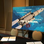 """Excited to be down in """"The Plains"""" @auburnu for #3Dprinting forum today - with @nasa_technology, @nasa_sls & @NASA. http://t.co/b7kUOHtxv3"""