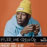 LESS THAN 100 TICKETS LEFT: Tyler, the Creator at @ConcordHall! Get tickets: http://t.co/F5OakP4c9e #Lollapalooza http://t.co/3aXZ0UmIUT