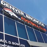 #Broncos training camp just one day away. Were at Dove Valley as they introduce a new partnership with #UCHealth http://t.co/xbTZlpbMxd