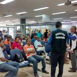 Seguindo as diretrizes do Governador @FlavioDino já estamos em Pinheiro fiscalizando todos os bancos da cidade. http://t.co/92nXRKAOId