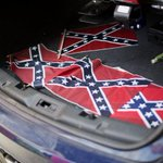 Some racist scumbag put Confederate flags around Martin Luther King Jr.s church http://t.co/msYTDseEdG http://t.co/Ir9OaNnZtk