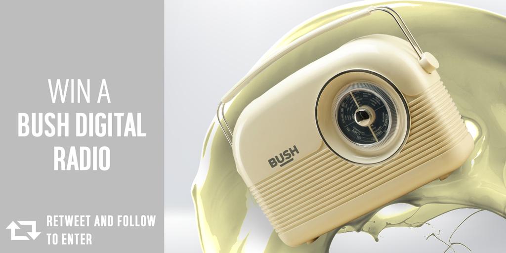 It's #competition time. Follow @Argos_Online & RT to #win a #Bush Digital DAB radio. T&Cs: http://t.co/NMh94MI6UJ http://t.co/LnDTTYYiK7