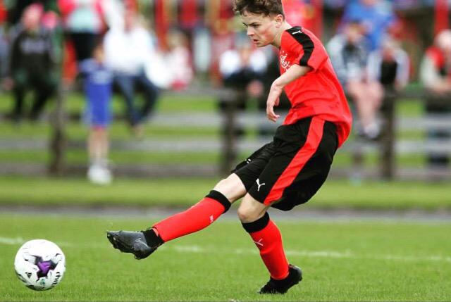 Great to see Josh bag his first goal for #Rangers at the Milk Cup #ViolaFC http://t.co/PwUTayWTNE