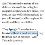 Israel beheaded Palestinian children in Gaza last summer. Just horrifying. https://t.co/Tce42Ta7HP #JSIL http://t.co/orT3U2YqT0