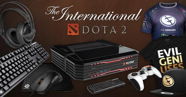 Help us cheer on @EvilGeniuses at #TI5 with this epic giveaway! http://t.co/KPicmAdGzT http://t.co/cWfBsdvetv