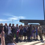 Cutting the ribbon! Riverfront park is now officially open @Ascend_amp http://t.co/9zYTRuB5RG