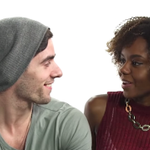 Interracial couples have candid talk about stereotypes. Of course someone brings up penises. http://t.co/dzafXwkwRH http://t.co/lWMQYP9SVJ