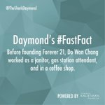 And now Don Won Chang is currently worth $3.7 Billion Dollars. We all start somewhere! @Forever21 #FastFact http://t.co/xEgo2cpoEw