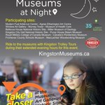 Take an evening tour of Kingstons museums on Aug 6! @aeartcentre @cityofkingston @kingstonmuseums @KingstonTrolley http://t.co/mJ2KnovPKm