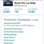 ¡GRACIAS POR SEGUIR COMPARTIENDO! #RockXLaVida9 TT #GDL #TodosVsSuicidio http://t.co/o4UWnWX6ih