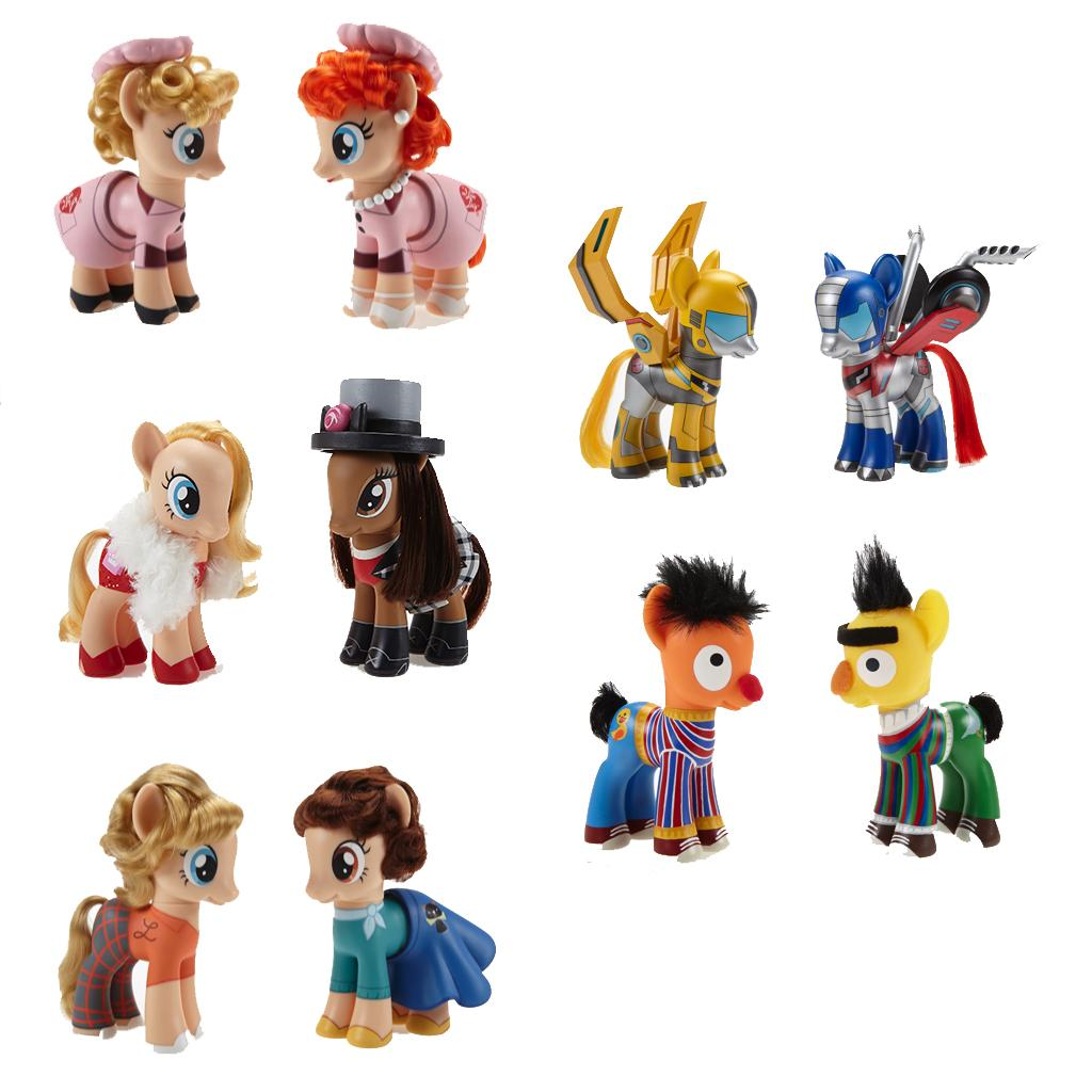Happy #MLPFriendshipDay! To celebrate, we've created #MyLittlePony figures honoring iconic best friends! http://t.co/WtJlPf1YnZ