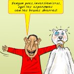 (Recordar es vivir) Caricatura EDO (Mayo 2010) : Brazos abiertos #ProduccionSIExpropiacionNO http://t.co/7AOfNAqxAW