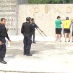 VIDEO: Policías dan susto a estudiantes que realizaban actividad en La Minerva https://t.co/q9RaXsvHn8 #Gdl http://t.co/76TdMeuREW