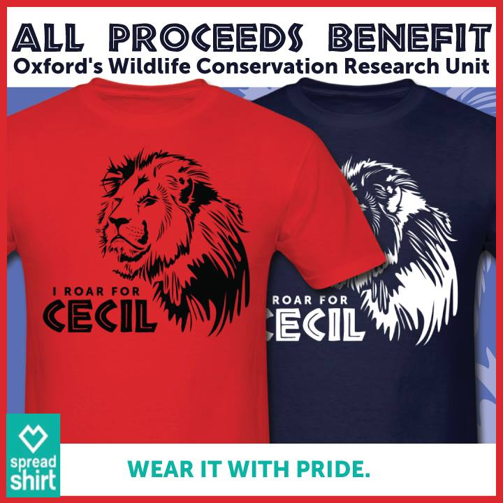 #RoarForCecil with @HomerBlindCat. Support #CecilTheLion & help protect other Lions in Africa. http://t.co/HgsHFTo6lQ http://t.co/FwHxiM6KF7