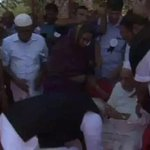 @narendramodi Touching the feet of APJs Elder Brother But No Media showed it Becoz it have Communal FACE???? http://t.co/HpUEZdTeRU