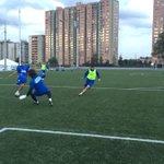 Entrenamiento en sede de la FCF en Bogotá. Preparación del juego de Liga Águila con Pasto, que será el domingo 2 p.m. http://t.co/eukJEvhqhd