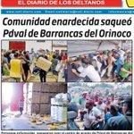 Vean donde el chavismo está llevando el país. Saqueos por hambre. Esto fue ayer: http://t.co/w5t9ZgwFmr http://t.co/5NfHa4ockQ