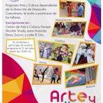 MAÑANA #antofagasta TE INVITAMOS A QUE CONOZCAS NUESTROS TALLERES ARTÍSTICOS CULTURALES GRATUITOS @AntofagastaMuni http://t.co/2uafkBOy4f