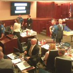 @GeorgeBrauchler maintains during #theatershooting outburst. Right back into closings. Live: http://t.co/2HFmoNJSlK http://t.co/8VIAM9kfCN