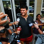 Jake Matthews is feeling confident as he heads into his second season: http://t.co/ABV5A1kIAm #RiseUp http://t.co/hdyJp8qPa6