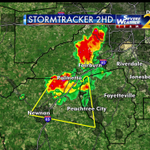 Severe thunderstorm warning until 6:30pm for parts of Coweta and Fayette counties. Im tracking on @wsbtv now. http://t.co/7tq4OyHK2Y