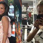 Zoe Saldana is showing off her post-baby body in a new gym selfie! See her inspiring note: http://t.co/sdrmBPxxmM http://t.co/OczvEYYLPu
