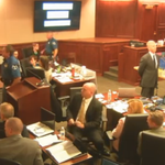 At approx 4:35 #TheaterShooting judge will return to address the disturbance earlier today http://t.co/3pRUQdI8ED http://t.co/Mz8GNyXOqG