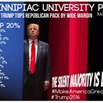 .@QuinnipiacPoll ➡️ @realDonaldTrump #1. #SilentMajorityIsBack ???????? cc:@LindseyGrahamSC @GovernorPerry @GovChristie http://t.co/y1q6tJ0ycs