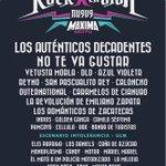 Cartel completo de #RockXLaVida9 #TodosVsSuicidio Nos vemos el 23 de agosto en Parque Trasloma para celebrar la vida. http://t.co/L0wlF3K3A3