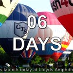 Under a week to go until the Fiesta! #Bristol #BalloonFiesta http://t.co/P5XvMHcqQv