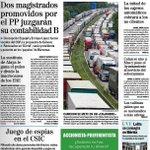 Portada El Mundo 2 magistrados promovidos por el PP juzgarán su contabilidad B #FinDeLaCita http://t.co/uimY4cL1De